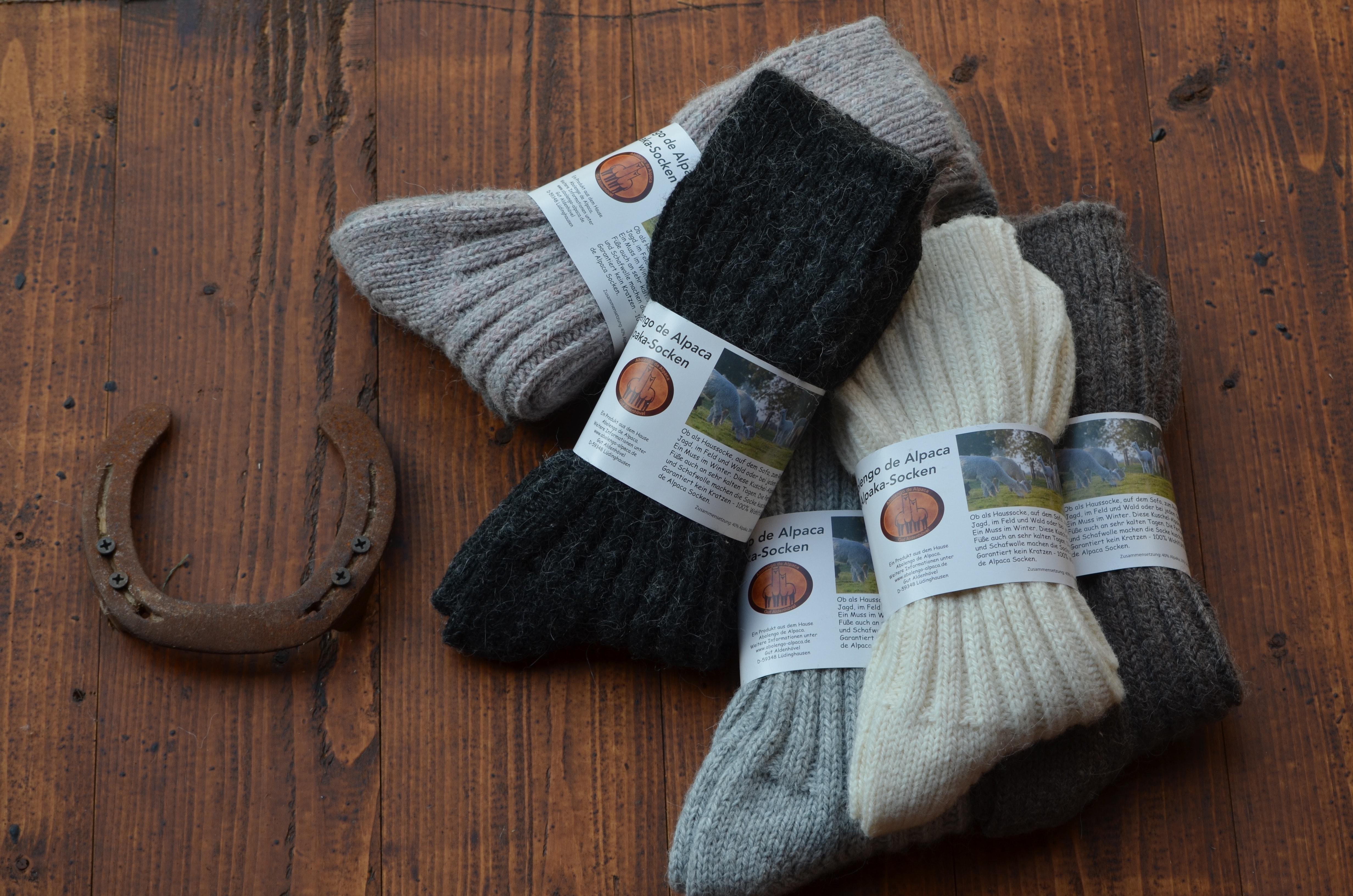 Alpaka Socken - Abolengo de Alpaca