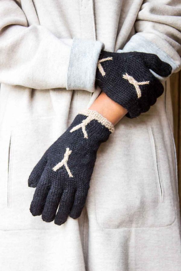 Unsere Feinen Modischen Alpaka Handschuhe Abolengo De Alpaca